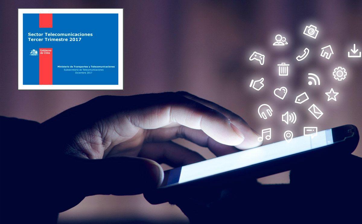 """La consolidación del """"ciudadano digital móvil"""" en Chile"""