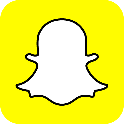 color Snapchat Logo Ghost Yellow